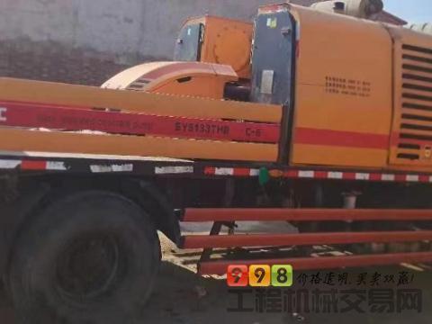 出售14年三一10018车载泵(国四)