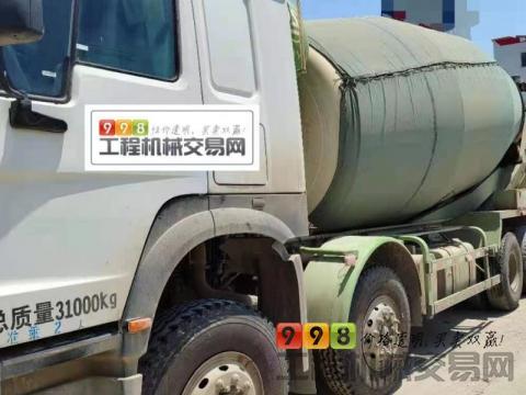 终端出售19年中集豪沃大20方搅拌车(国五)