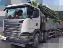 2017年3月中联斯堪尼亚60米泵车
