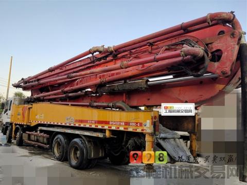 车主转让14年三一五十铃56米泵车(C8 龙象共舞 实表19万方)