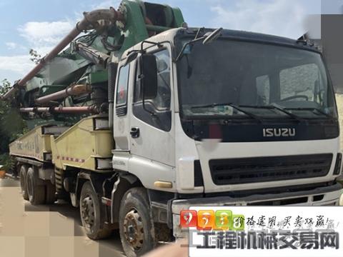 终端直售10年中集五十铃48米泵车