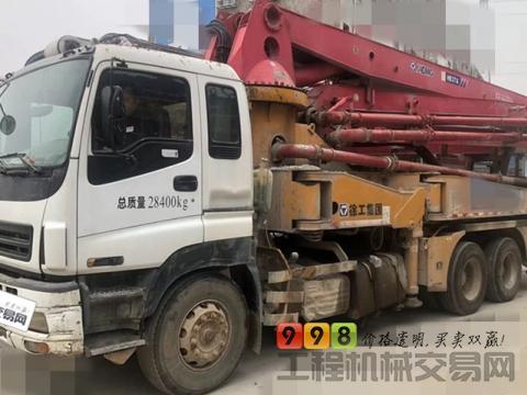 极品出售14年徐工五十铃37米泵车(3万多公里+10多万方)