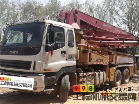 精品出售11年徐工五十铃37米泵车