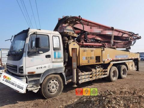 出售11年12月出厂徐工五十铃41米泵车