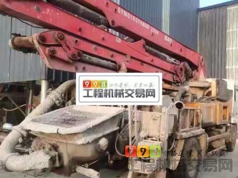 终端出售14年三一东风25米泵车(国四)