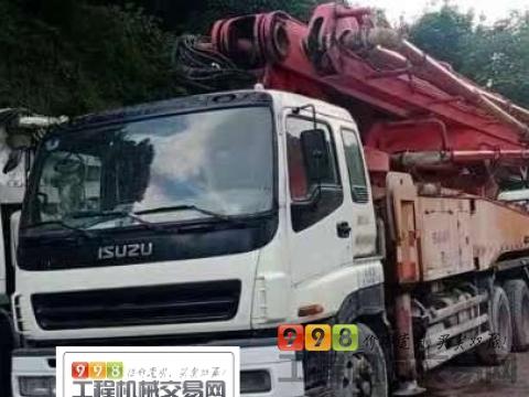 精品出售11年三一五十铃46米泵车