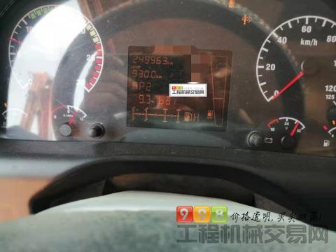 车主出售15年重汽豪沃大18方搅拌车(国四带营运证)