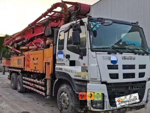 终端急售15年三一五十铃49米泵车(精品国四)