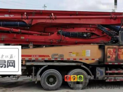 出售13年三一五十铃底盘49米泵车