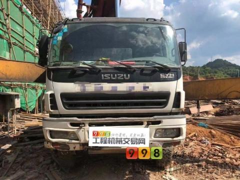 精品出售11年出厂徐工五十铃52米泵车