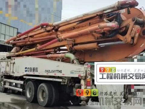 精品出售14年中联五十铃52米泵车