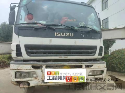 精品出售13年出厂中联五十铃52米泵车(大排量,双油泵)