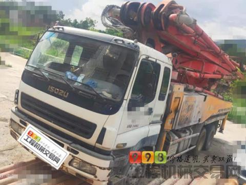 终端精品11年出厂三一五十铃46米泵车(暂时不卖)