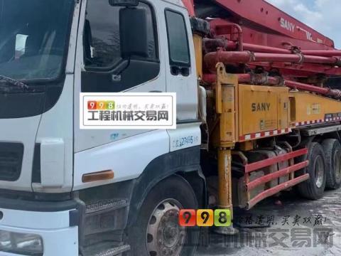 精品出售13年三一五十铃37米泵车