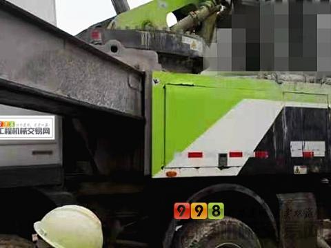 个人转让18年出厂中联奔驰56米泵车(价高)