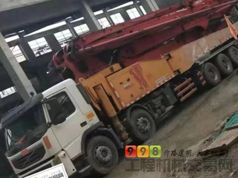 终端出售13年三一沃尔沃62米泵车(价高)