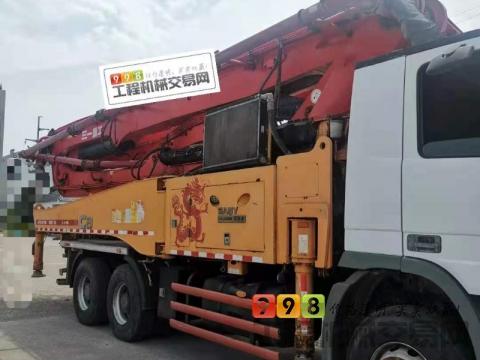 精品出售14年9月三一奔驰49米泵车(天价)