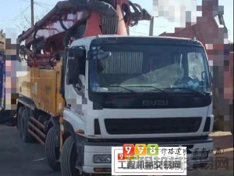 精品出售14年三一五十铃52米泵车(一手车)(天价)