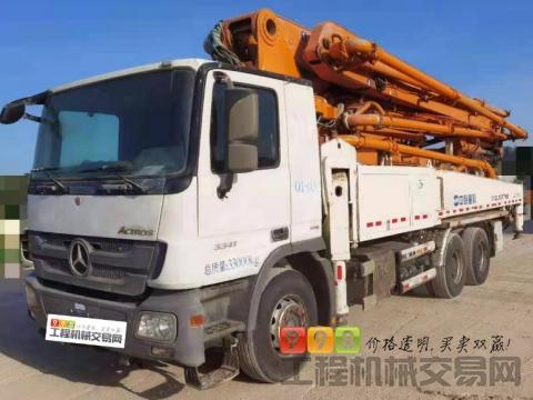 精品出售13年中联奔驰47米泵车(西北车况)
