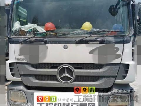 终端出售18年12月份中联奔驰49米泵车(国五)