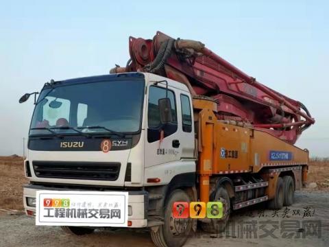 出售17年徐工五十铃56米泵车(价高)