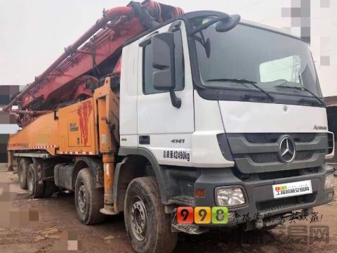 精品出售14年三一奔驰56米泵车(国四龙象系列)