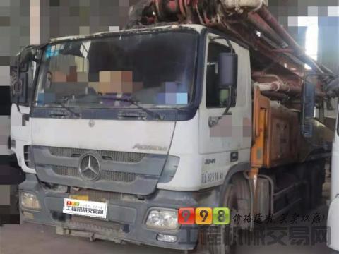 终端精品转让13年出厂三一奔驰49米泵车(C8系统)
