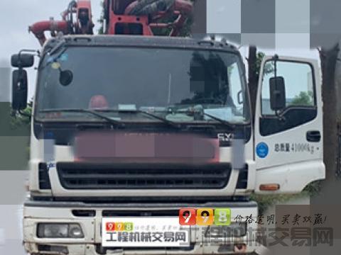 极品出售14徐工五十铃52米泵车(一手车)