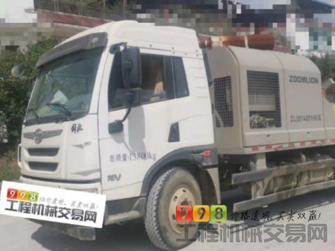 精品出售19年出厂中联解放10022车载泵(3万多方)