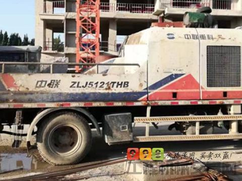 车主转让11年出厂中联10018车载泵(3500小时)
