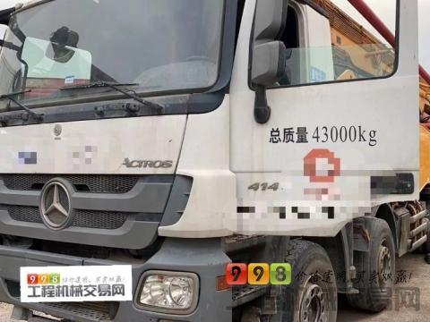 精品出售15年徐工奔驰56米泵车(国四)