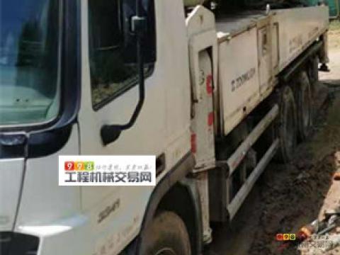 车主直售12年年底中联奔驰47米泵车(双主油泵  大排量 车况包相中)