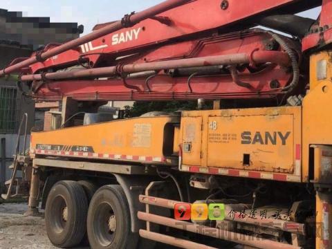 出售精品2009年三一五十铃37米泵车(大排量)