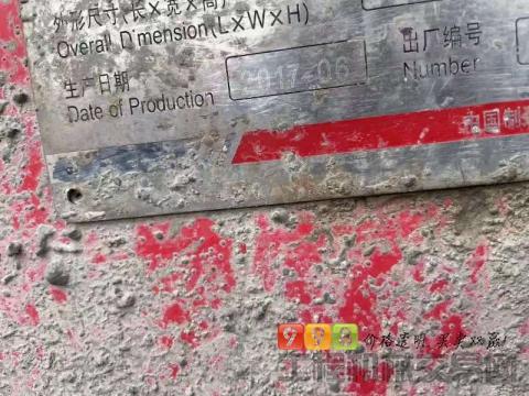 出售17年出厂三一奔驰56米泵车(国四)