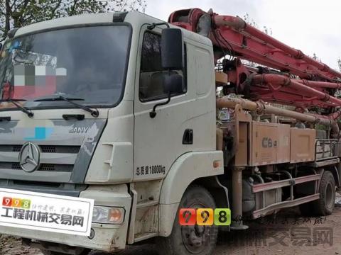 精品出售17年三一30米泵车(国五C8)