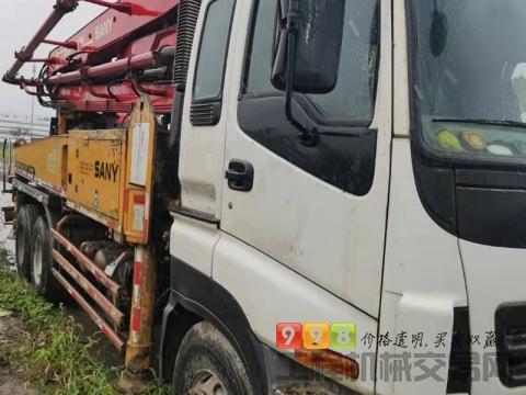 终端直售11年三一五十铃37米泵车(大排量)