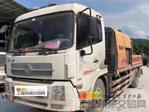 出售2013年10月出厂三一 10018车载泵(三一C6.一手车)