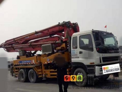 转让2006年徐工五十铃37米泵车