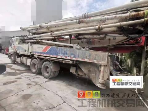 出售11年出厂中联五十铃47米泵车(三桥叉腿)