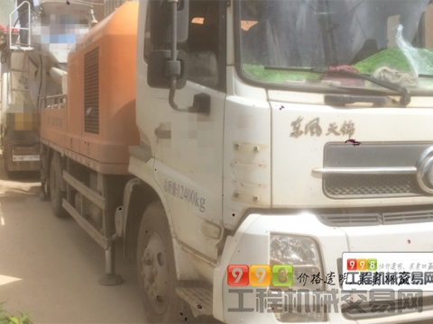 出售13年7月中联东风10018车载泵
