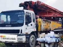 终端精品出售10年三一五十铃43米泵车