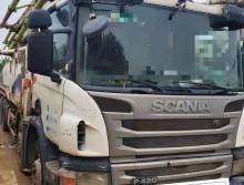 出售12年中联斯堪尼亚56米泵车(零故障交车)