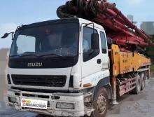 2011年9月三一五十铃46米泵车(三桥叉腿)