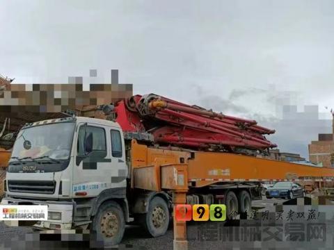 终端出售2013年出厂三一五十铃叉腿52米(6节臂.黑转塔.C8系列.)