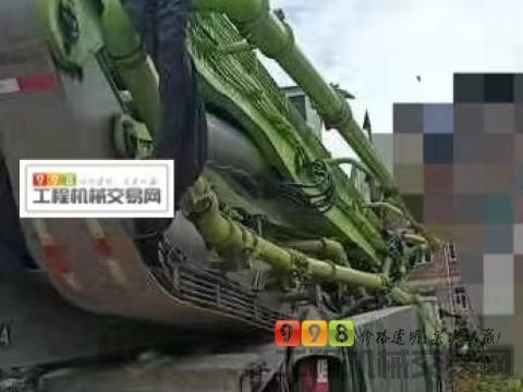 终端精品出售2021年出厂中联汕德卡63米泵车(首付+分期)