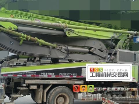 终端出售18年中联斯太尔37米泵车(4万多方  国五)