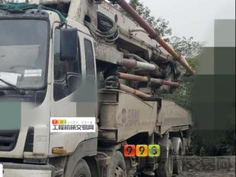 出售09年中联五十铃46米泵车