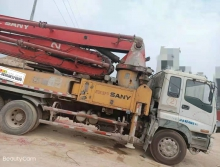 精品出售10年三一五十铃37米泵车