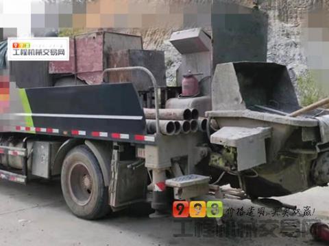 车主转让18年出厂中联解放10018车载泵(国五 2000小时)