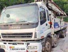 精品出售12年中联五十铃52米泵车(X腿6臂)